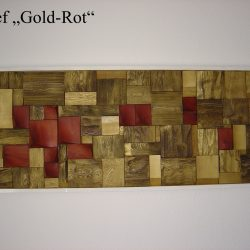 "Relief ""Rot-Gold"""